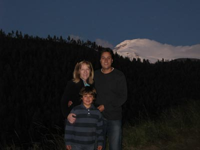 Cayambe at Dusk
